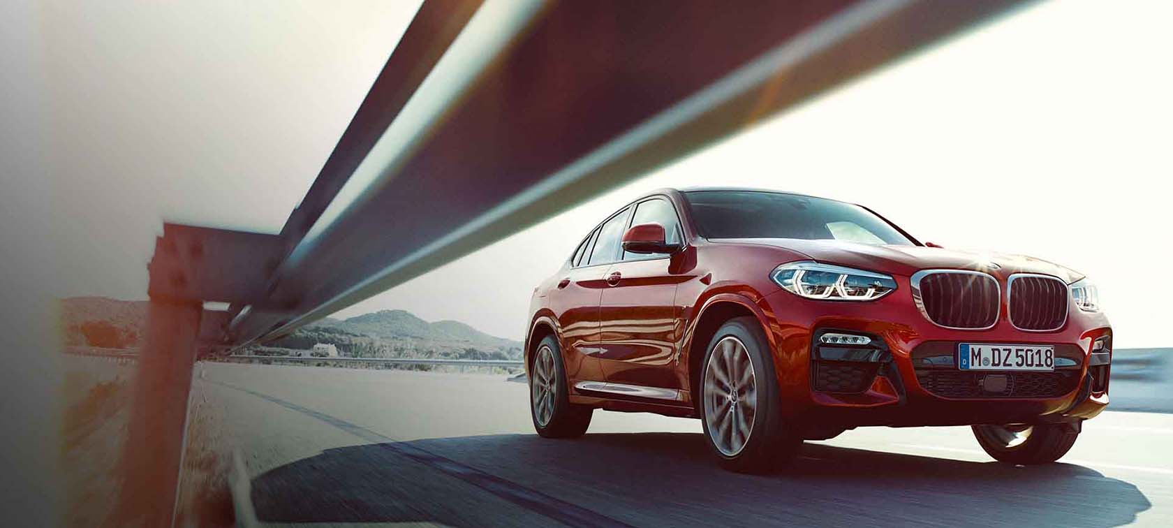 The BMW X4 SERIES