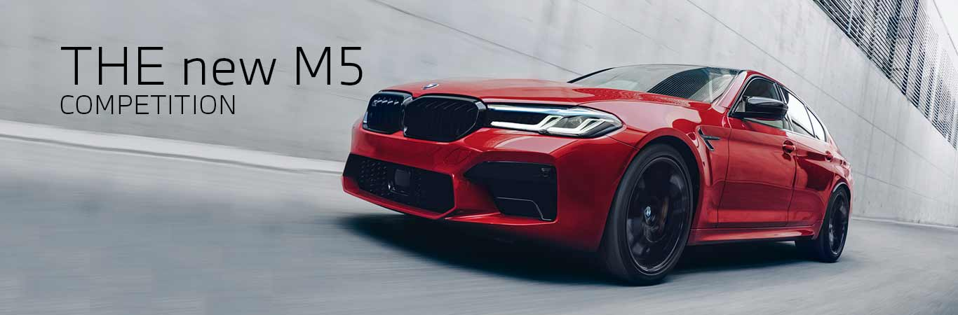 The new BMW M5 Competition